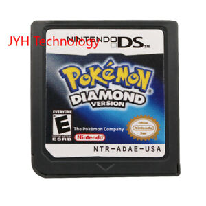 Pokemon-Diamond-Version-Nintendo-DS-2007-Game-Card-For-DS-3DS-Christmas-Gift