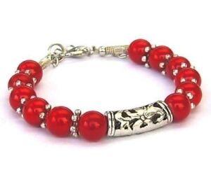 100% QualitäT Sehr Eleganter Tibetanischer Schmuck - 12 Korallen - Stamm - Tibet - Rot SpäTester Style-Online-Verkauf Von 2019 50%