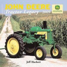 John Deere Tractor Legacy 2009 Calendar
