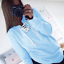 Womens-V-Neck-Lace-Up-Long-Sleeve-Pullover-Jumper-Sweater-Top-Sweatshirt-Outwear thumbnail 14