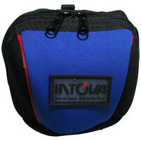 Neoprene Camera Bag For Intova Nova, Edge X, Sp1. Blue And Black New. Sp1cb
