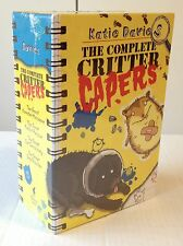 The Complete Critter Capers Boxed Set by Katie Davies (HC) Dog Cat Rabbit Hamste