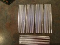 Metal Roofing For Craft Projects - Corrugated / Diy / Bird Houses / Fairy / Kits
