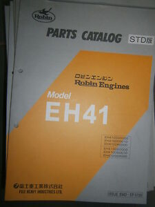 ROBIN Engines EH41 : Parts Catalog 10/1998