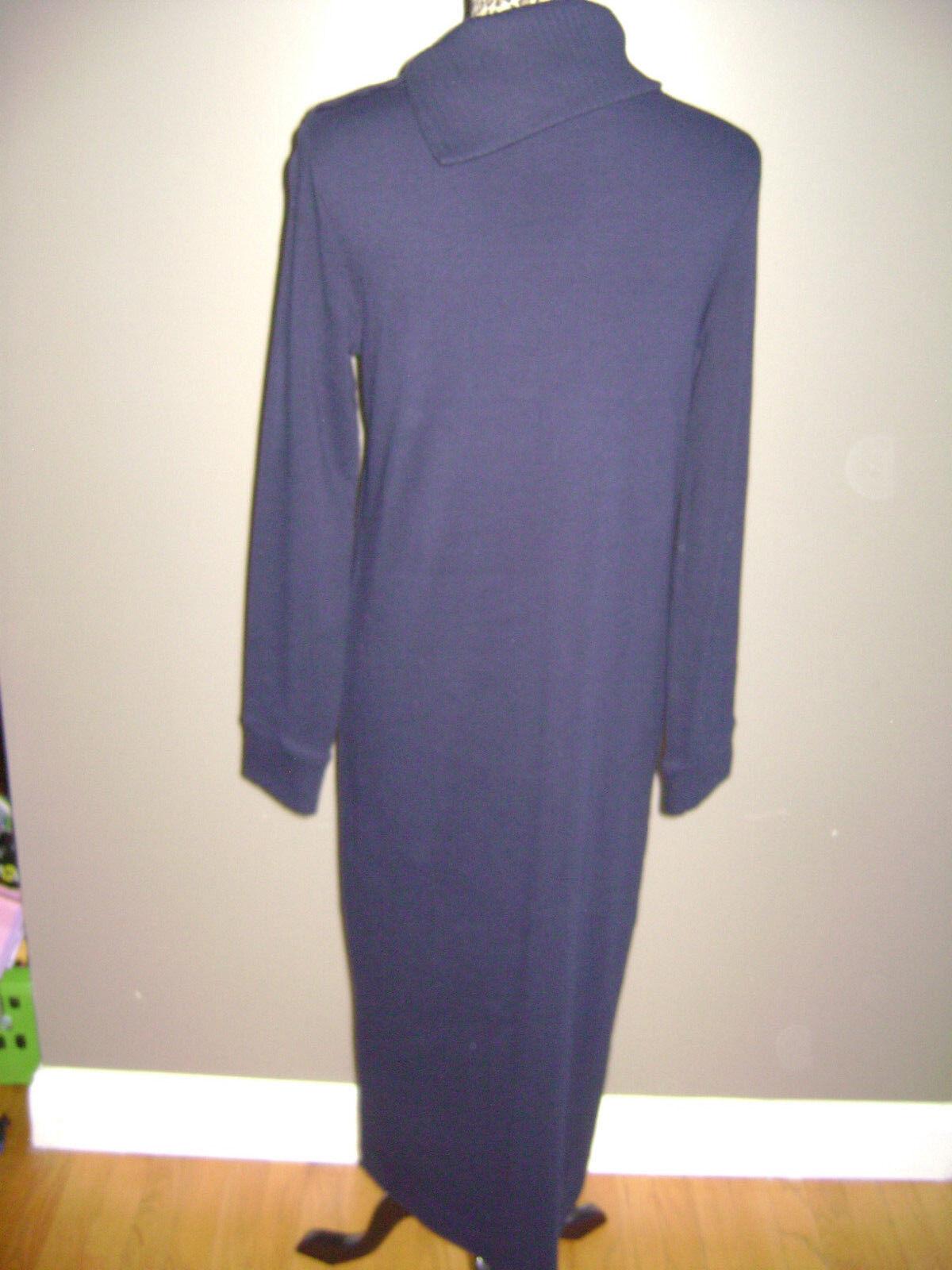 RALPH LAUREN WOMEN LONG SLEEVE DRESS size S BLUE … - image 8