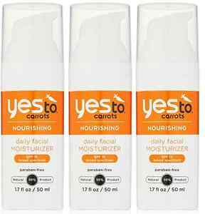 Yes-To-Carrots-Daily-Facial-Moisturizer-SPF-15-1-7-Fluid-Ounce-3-Pack