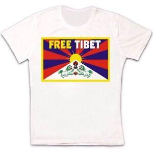 Free Tibet China Indepence Everest Retro Vintage Hipster Unisex T Shirt 1518