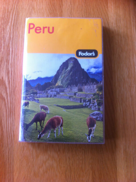 Fodor's Peru by Fodor Travel Publications (Paperback, 2006)