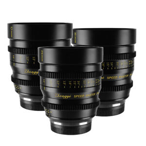 Zhongyi Cine Lens 17mm 25mm 35mm T1.0 for Micro 4/3 BMPCC MFT G3 GH3 GH4 OM-D