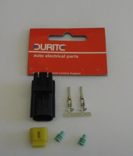 Durite Econoseal Connector 2 Way Female to fit Land Rover XBP100180  Bulb Holder