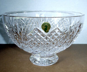 Image Is Loading Waterford Wedding Heirloom Footed Bowl 8 034 Crystal