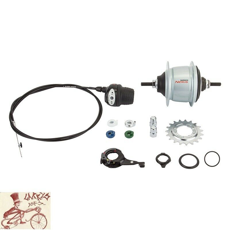 SHIMANO NEXUS SG-C6010  8-SPEED INTERNALLY  GEARED RIM BRAKE 32H REAR HUB KIT  timeless classic