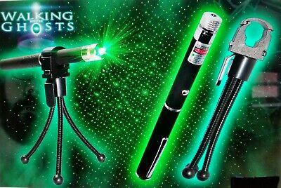 Paranormal Ghost Hunting Equipment Kit PURPLE LASER GRID PEN 5MW HOLDER+TRIPOD