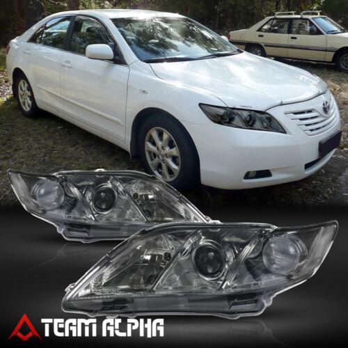 Fits 2007-2009 Toyota Camry Crystal Corner Headlight Headlamp Lamp ...