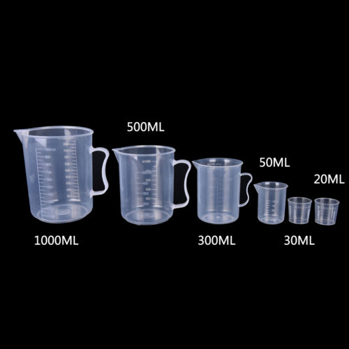 20//30//50//300//500//1000ML Plastic Measuring Cup Jug Pour Spout Surface KitcheS/_vOQ
