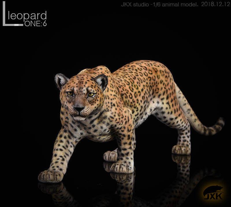 JxK Studio Jxk009 1 6 The  leopard Animal modellololo Resin Statue nuovo  negozi al dettaglio