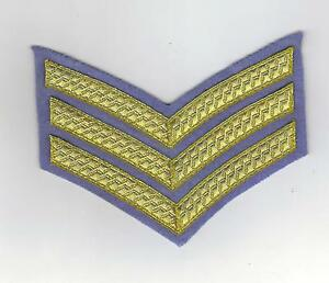 BRITISH-ARMY-SERGEANTS-DRESS-INSIGNIA-CHEVRON-FOR-NO-1-DRESS-ARMY-AIR-CORPS