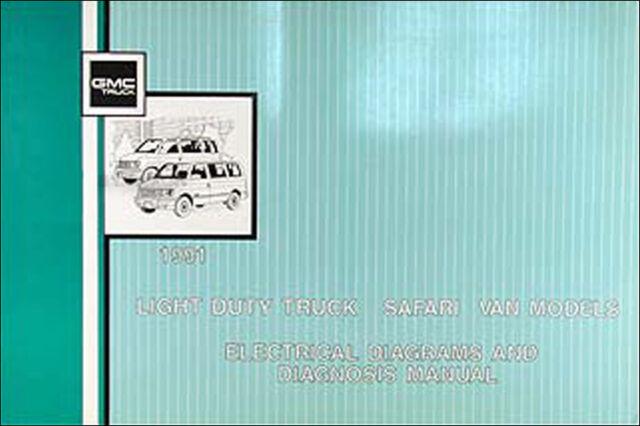 1991 Gmc Safari Van Wiring Diagram Manual Electrical