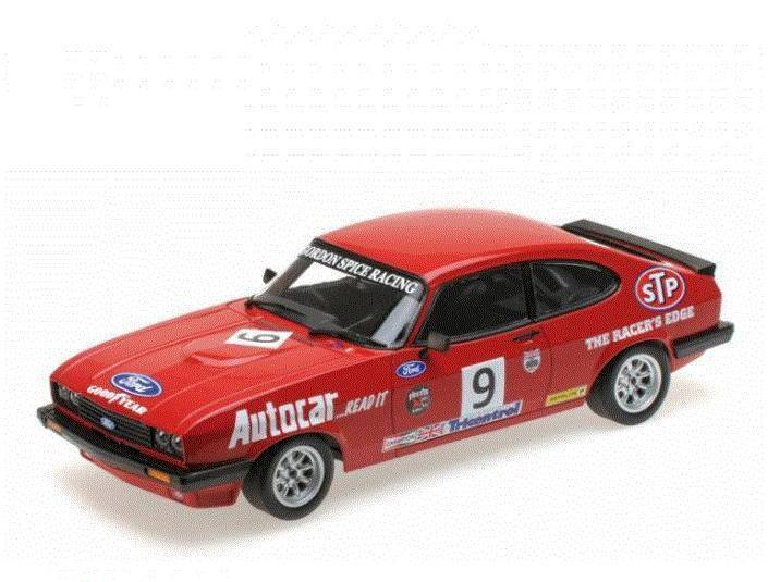 Ford Capri 3.0 Gordon Spice Group  9 Winner Brands Hatch Short Circuit Race BSCC
