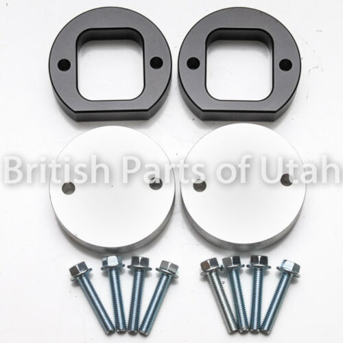 """Land Rover Discovery 2 II Spring Spacer 1/"""" Lift Aluminum Coil Front /& Rear 99~04"""