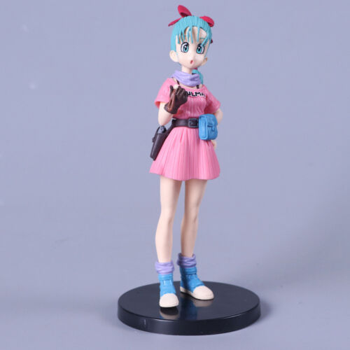 Action- & Spielfiguren 17'' Dragon Ball Z SCultures Big Tenkaichi Budoukai 7 Bulma Buruma Figure Anime