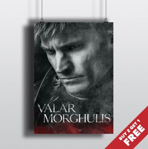 A4 Size* JAIME LANNISTER POSTER Kingslayer Game Of Thrones Wall Art Print A3