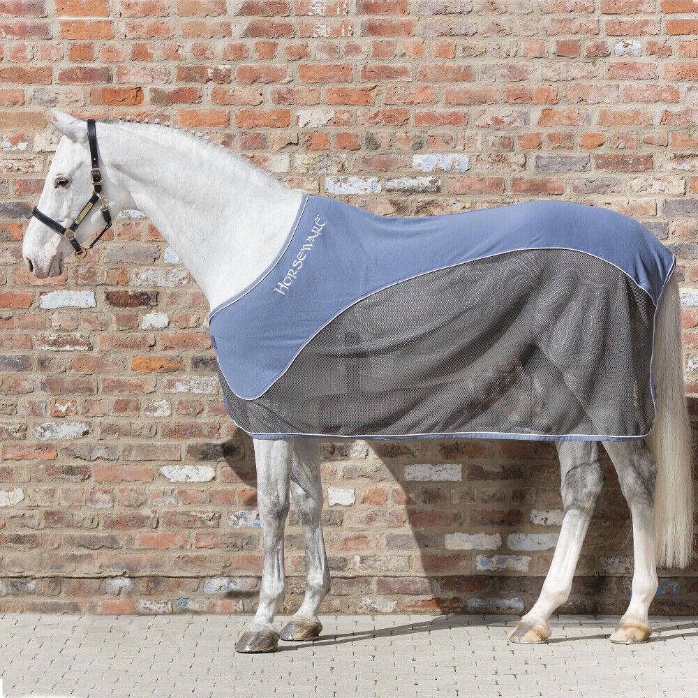 Horseware RAMBO SPORT COOLER- na bluee  Charcoal,  na bluee and White  fantastic quality