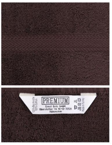BETZ 10er Pack Laver Gants Premium Couleur Turquoise /& marron foncé 16x21 cm