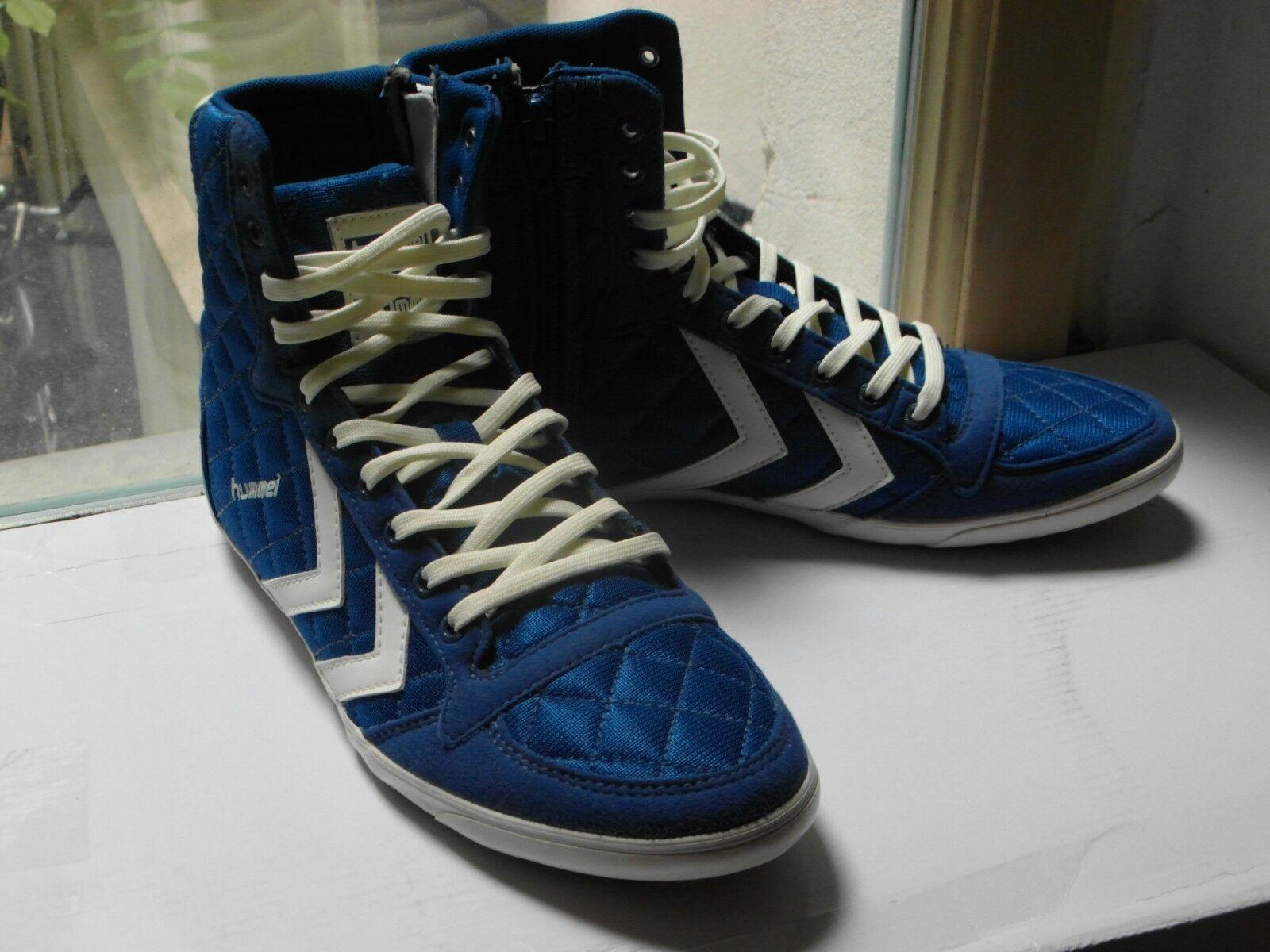 HUMMEL Miss Stadil 39 Quilted High Damen Sneakers Blau-Weiß 39 Stadil e9d625