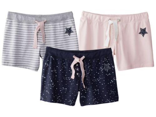 Ladies Girl Pyjama Shorts Cotton Rich S 36 38 M 40  42  L 44  46 Grey Navy Pink