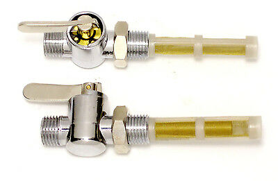 Petcocks Triumph Norton BSA 83-2800 83-2801 fuel valves petcock set reserve main