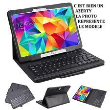 Étui Coque Housse Clavier Bluetooth Détachable AZERTY GALAXY Tab S 10.5 Noir