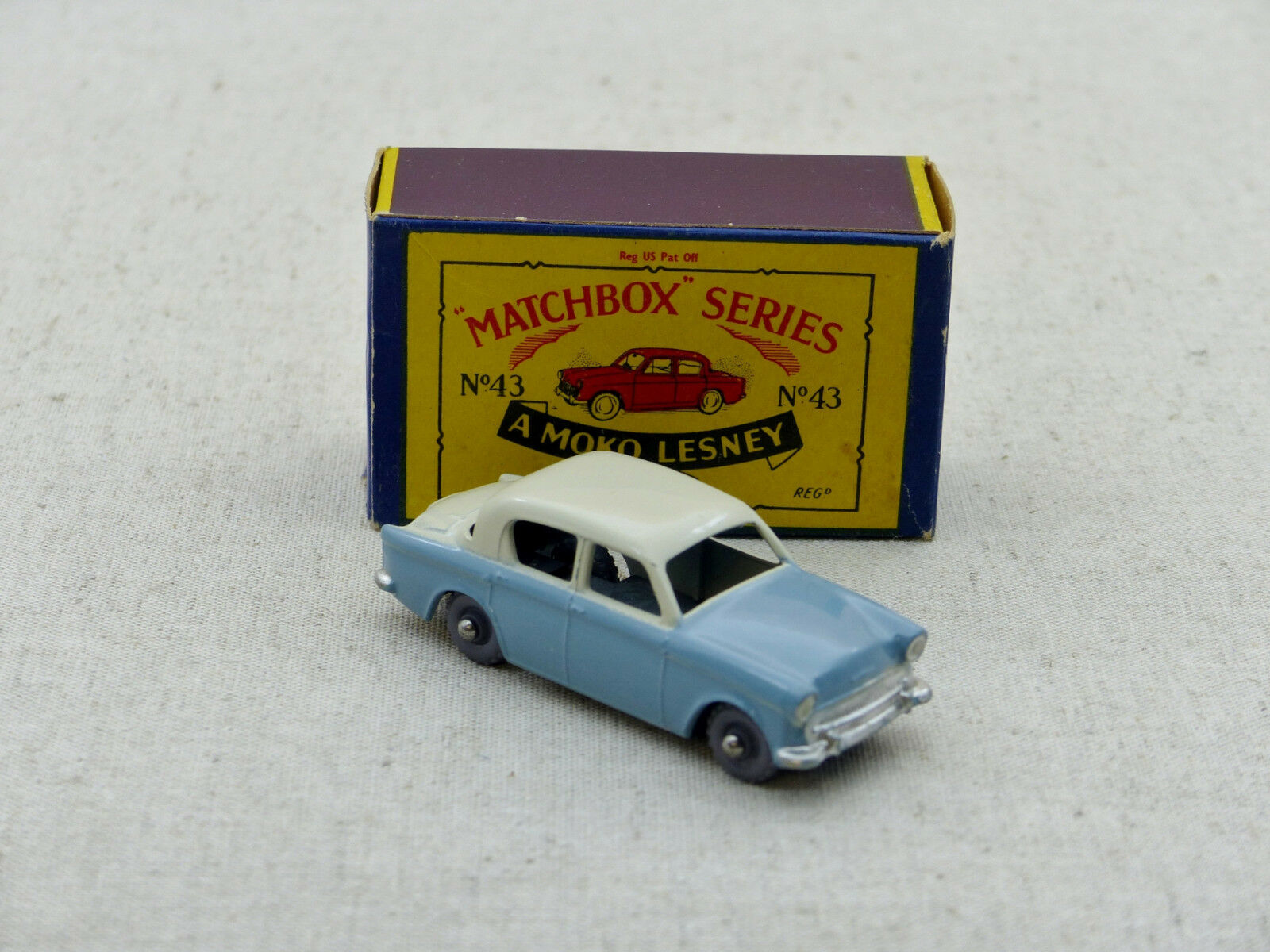 Matchbox Lesney series   43 Hillman Minx   NM/Boite