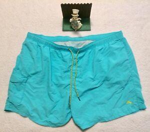 1164fcc1b9 Tommy Bahama Men's Swim Trunks Size 3XB Aqua Relax Big/Tall Shorts ...