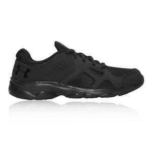 Under Armour Junior Pace GS Running Shoes Trainers Sneakers Black Sports