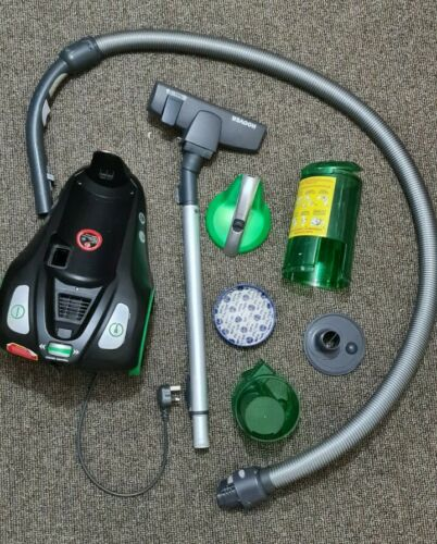 Rush Pets cylinder bagless hoover, cleaned and disinfected