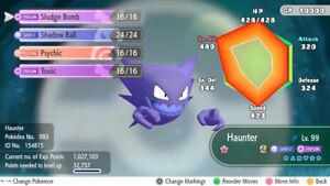 Pokemon Lets Go Shiny Haunter Max 6iv Av Fast Delivery Original