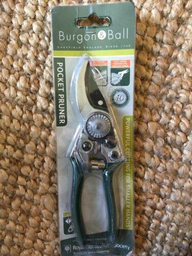 Burgon /& Ball GTO//PP RHS Poche Sécateur jardin lotissement Camping Bushcraft