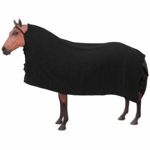 New Softfleece Traditional Cooler Black Warm Wicks Away Moisture Horse Tack