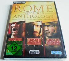 Rome Total War Anthology Gold + Add On Alexander + Barbarian Invasion  Win 8/10
