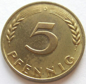 Top 5 Pfennig 1950 D In Proof Proof Only 400 Minted Very Rare Ebay
