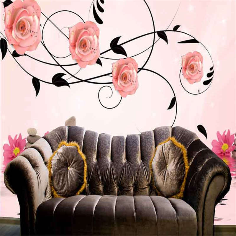 Fresh Rosa Rose Rose Rose 3D Full Wall Mural Photo Wallpaper Printing Home Kids Decoration 4c7af4