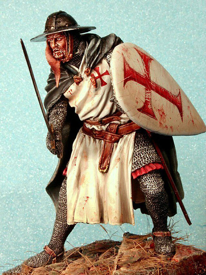 1 24 Scale 75mm Ancient Soldier Resin Model Unpainted Unassembled Garage Kit New