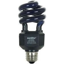 20W UV Black Spiral CFL Fluorescent Light Bulb - E26 FREE Shipping US Seller!!!