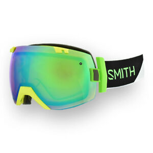 Smith-I-OX-Dayglo-Reactor-Goggles-w-CP-Everyday-Green-Mirror-CP-Storm-Rose