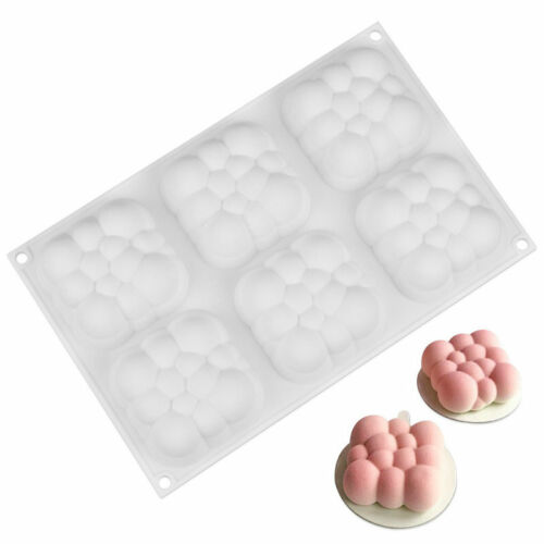 3D Silicone Cake Mold Baking Mold Cupcake Porous Mousse Mould Decor DIY Bakeware