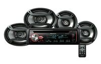 Pioneer Dxt-x2969ui Deh-x2900ui Cd Player Receiver + 6.5 & 6x9 Speakers Combo on sale