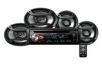 Pioneer Dxt-x2969ui Deh-x2900ui Cd Player Receiver + 6.5 & 6x9 Speakers Combo on sale