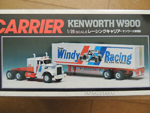Details about IMAI KENWORTH W900 RACING CARRIER Windy Racing Trailer truck  Motorized Lighting