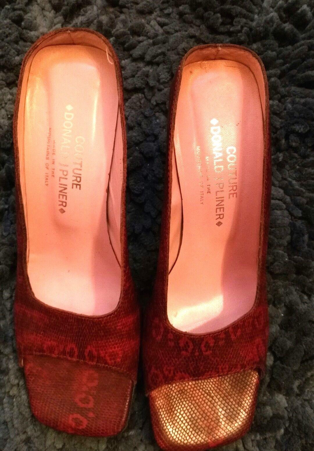 Women's DONALD J PLINER PLINER PLINER COUTURE - shoes Super Cute Sz. 10M  - MSRP  365 947de6